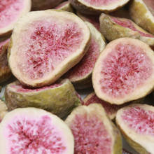 FD Food Fruit sweet taste snacks half of whole with red fruit and green peel freeze dried brand good quality fig