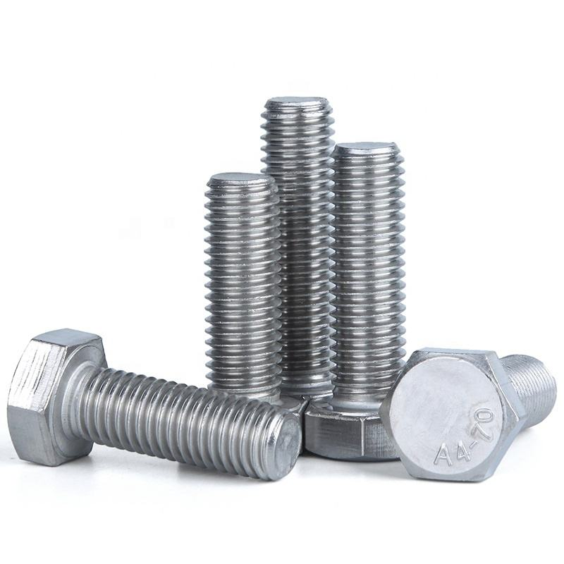 Stainless steel M52 heavy hex bolt for Mechanical Machine