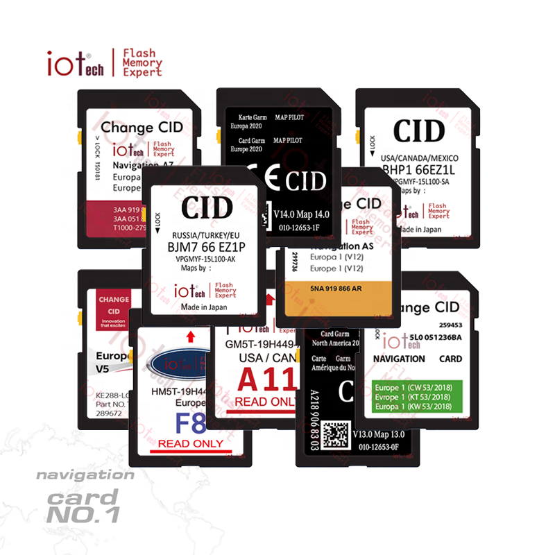 iotech write custom changeable CID SD car navigation gps 8gb 16gb 32gb change cid memory sd card