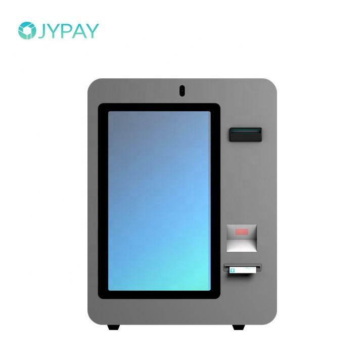 Tela Sensível Ao Toque de 21.5 Polegadas Android Self Service One Way Bitcoin Atm Kiosk Stands