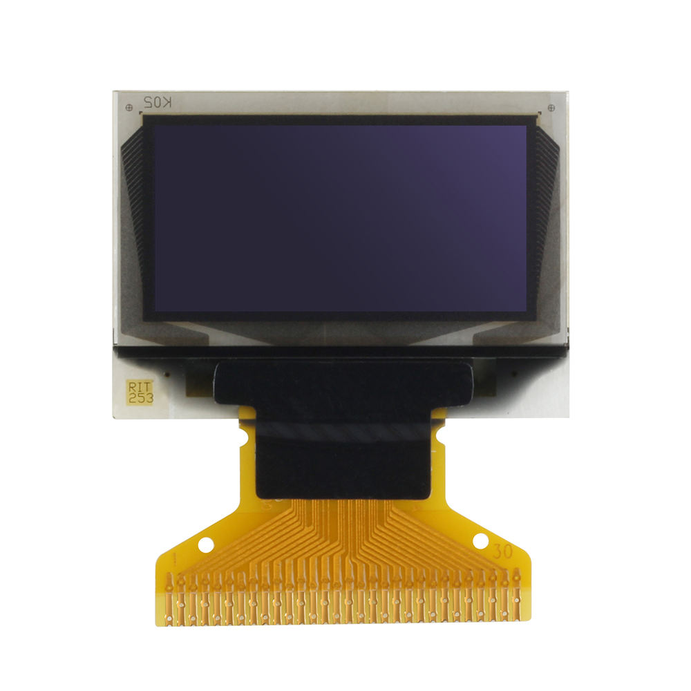 "0.96 ""<span class=keywords><strong>pequeno</strong></span> Display <span class=keywords><strong>OLED</strong></span> LCD 128x64 pixels, azul, SSD1315 IC"