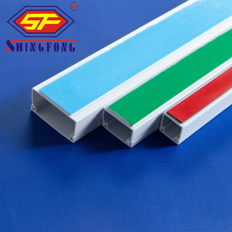 Good price High Quality PVC Trunking with sticker