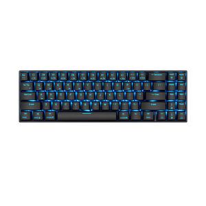 PD707 Mekanik Gaming Bluetooth Midi Laptop Nirkabel Foldable Keyboard Teclado Gamer dan Mouse Sisir