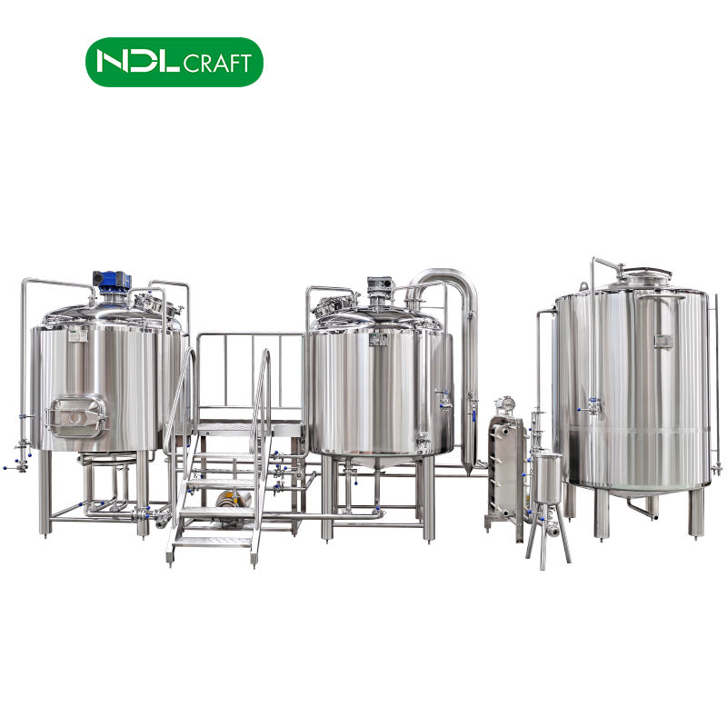 100L 200L 300L 500L 700L 1000L 2000L steel brewing micro craft beer brewery equipment