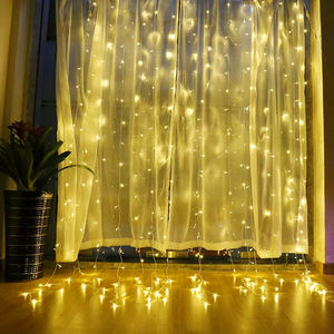 Bolylight Hot Sale 2m*2m led string Window Curtain Light Led String Lights For Christmas/Bedroom/Party