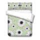 Green Floral daisy Printing Duvet Cover Set Gray Pure 100% Cotton Soft Duvet Covers Twin Queen King Bedding Set baby pillows