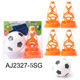 Football Set Football Set Kids Sport Toys Speed Training Football Agility Training Cone Set Soccer Cones