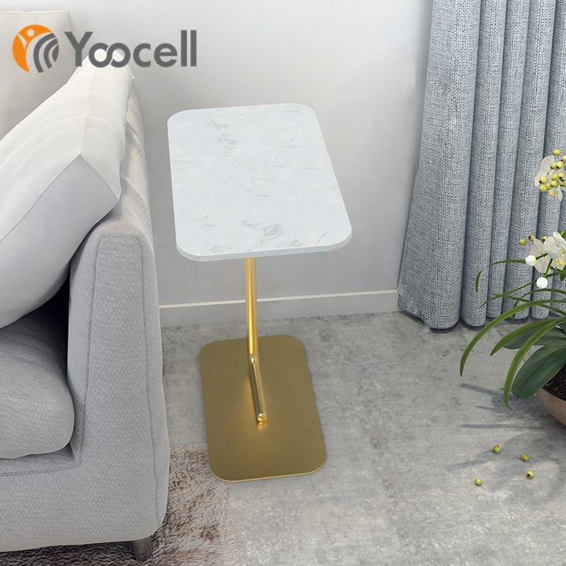 Yoocell Elegant and Classic barber shop marble waiting room table for beauty salon used