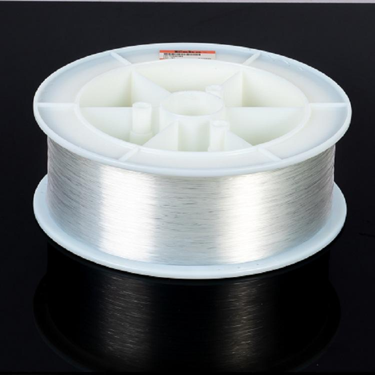 Flexible transparent plastic material CK-30 0.75mm CK-40 1.0 mm diameter pmma end glow optical fiber cable
