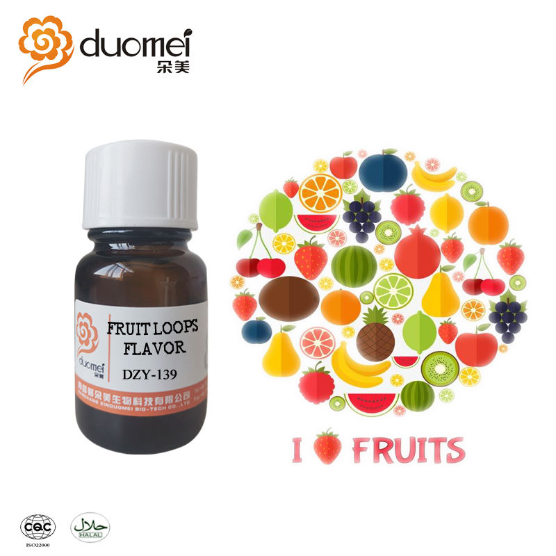 DZY-139 liquid fragrance concentrate flavouring fruit loops flavor for ejuice
