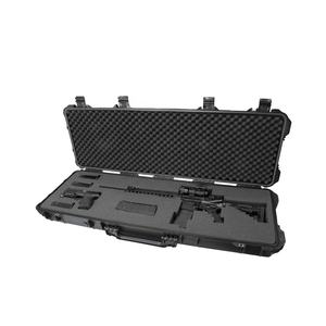 Heavy Duty Waterproof Hard Plastic Case Military Shockproof Long Gun Weapon Case