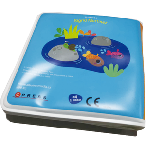 English waterproof early education enlightenment bath book baby water toy book