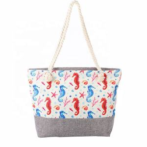 Portable fashion sea horse designer handbag 2020 new high-capacity beach leisure inclined shoulder bag wholesale