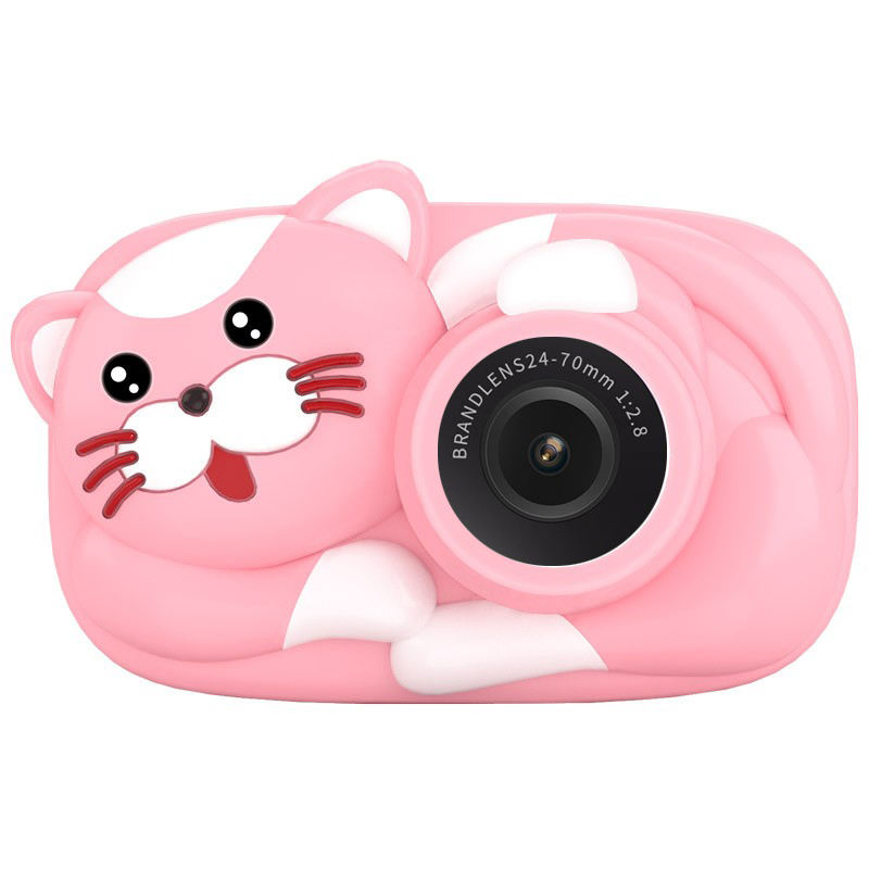 Kids camera Boy Girl toys Hd 1080p 2.4 Inch front and back dual-lens 18MP Photo and Record Birthday for Gift