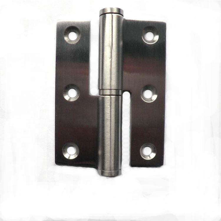 201 Stainless Steel Lift off Door Butt Hinge H Type Door Hinge With Washer