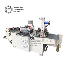 FPL320D Self Adhesive Vinyl Sticker Flat Bed Mini Label Die Cutting Slitting Machine For Sale