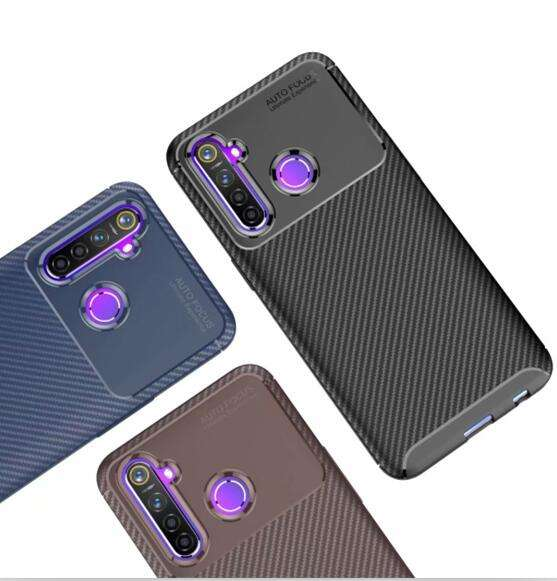Carbon Fiber Soft Armor Case Voor Oppo F9 Pro <span class=keywords><strong>F11</strong></span> A9 R17 Plus A3S A5 A5S A7 Tpu Silicon Gel skin Cover