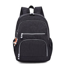 Women Backpack School Bag for Teenage Girls Nylon Casual Laptop Bagpack Travel Back Pack