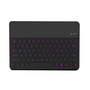 Mobile phone case mini wireless bluetooth backlit keyboard