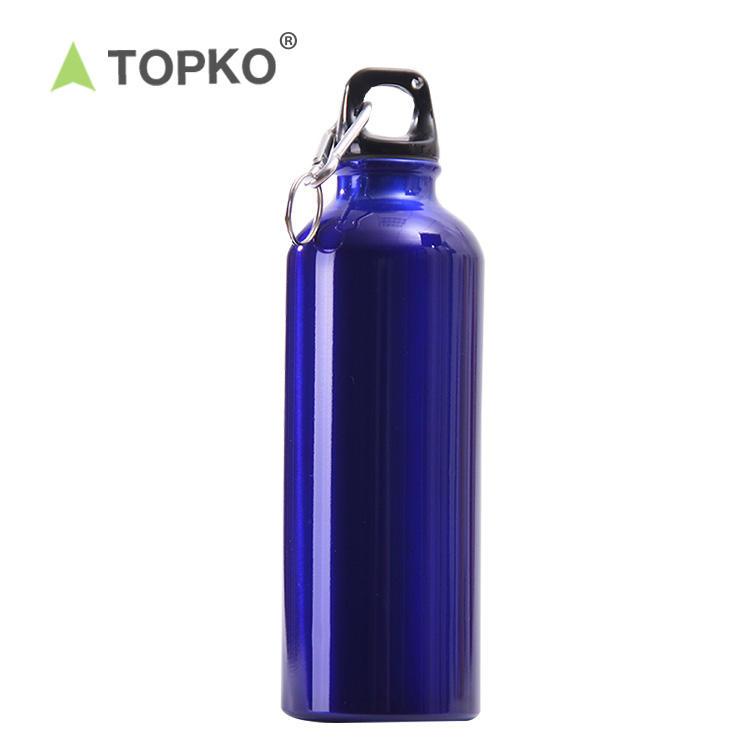 Sports Drink Bottle 600 ml Aluminium Epoxy coated Purple