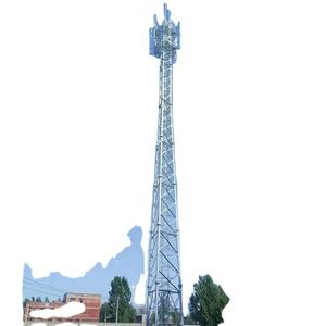 3-Leg Steel Tube Self Supporting Telecommunication Signal Wifi Gsm Cell Phone Telecom Tower