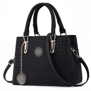 Hot Ladies Trendy Elegant PU Leather Fashion Designer Handbag Top Handle Shoulder Tote Hand Bags