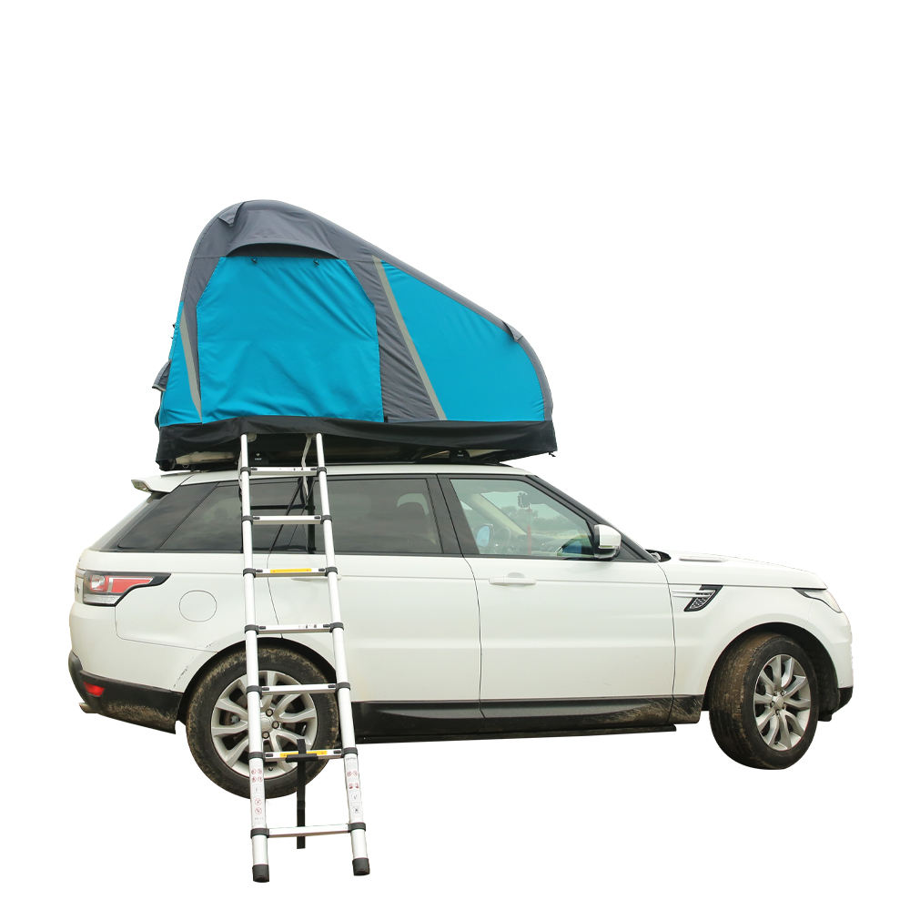 Manufacturers Buy Portable Diy Vehicle 2 Person Family Car Camping Inflatable Roof Top Tent For SUV