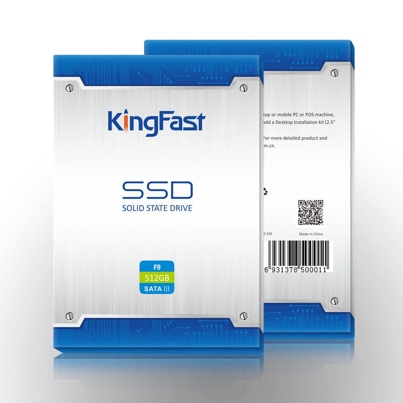 KingFast Brand 2.5Inch SATAIII 120GB SSD Hard Drive for notebook Metal shell with giftbox packing