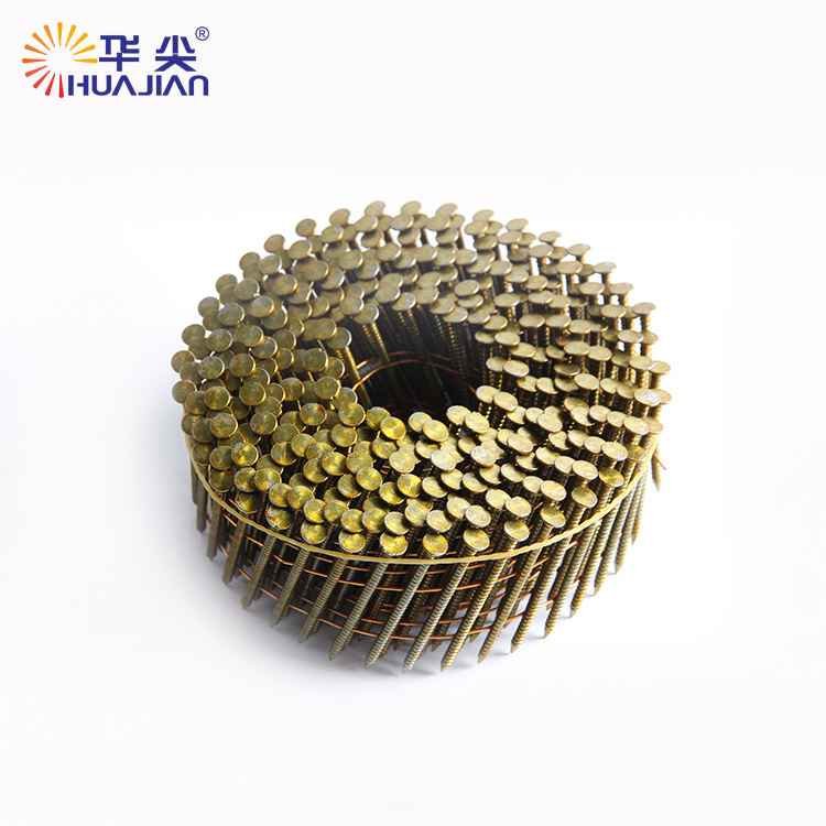 Hot Selling Wire Nail 114 Coil Roofing Nails