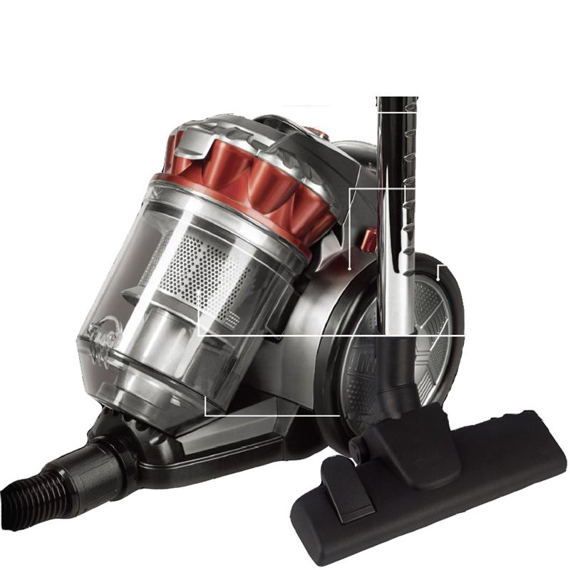 ATC-VC162 New Design Cyclone bagless Vacuum Cleaner With ERP 700W
