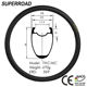 High Quality Superroad 27mm Wide 38mm Deep T1000 Chinese Carbon Road Bicycle Tubeless Rims