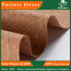 Portugal cork PU synthetic leather sheet ready to ship cork fabric for shoes bags packaging materials