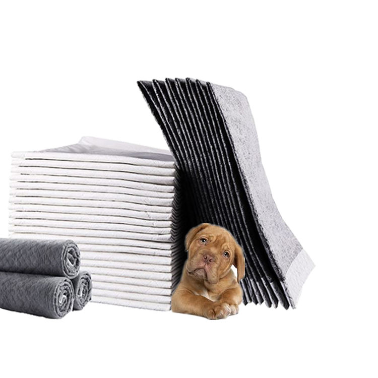 Manufacturer free sample cheap price S M L XL XXL XXXL bamboo carbon fiber puppy absorbent pads cat dog training pads for pet