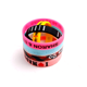 Customized Logo Personalized Silicone Bracelets Sports Wristband Bracelet with Cheap Price
