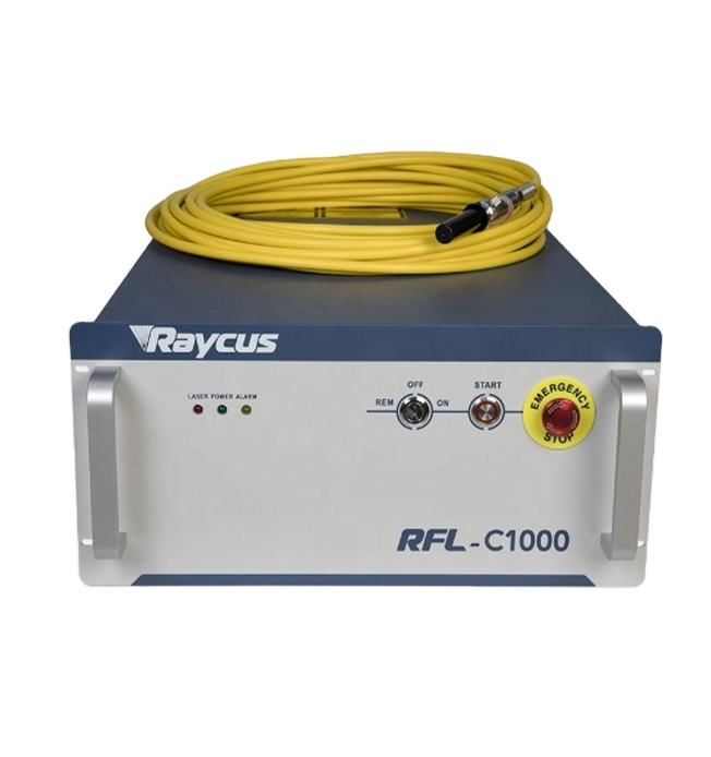new generation Raycus laser power fiber laser source RFL-C1000 for fiber laser cutting machine