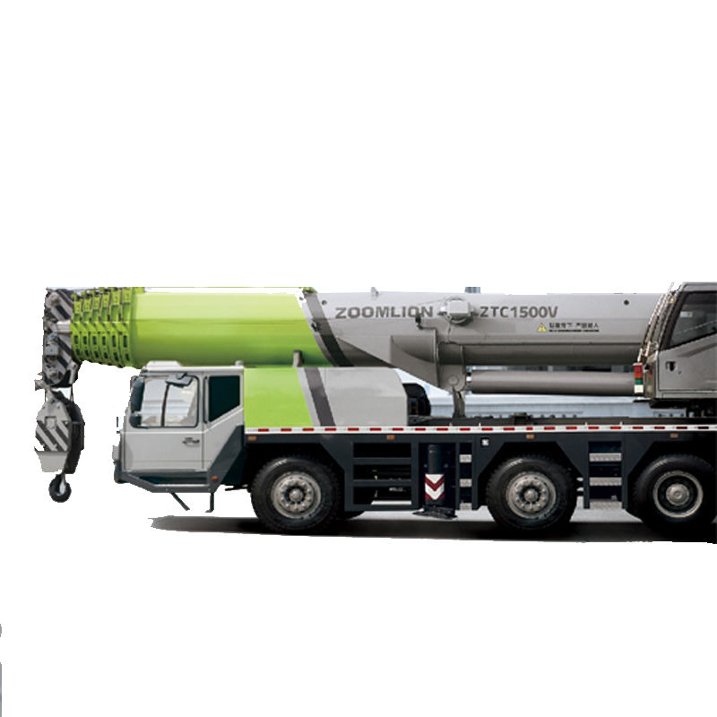 Cheap price Zoomlion ZTC1500 5 axle chassis super heavy 150ton truck crane 150 ton selling