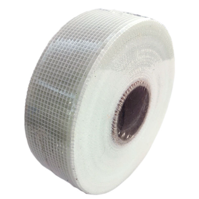 50mmx90m strong self adhesive fiber glass mesh tape