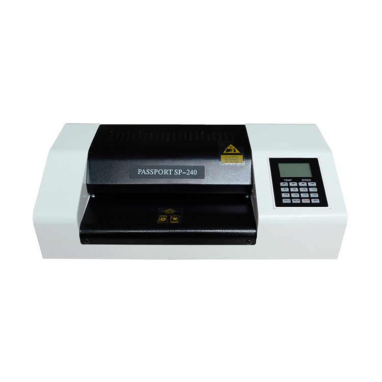 Multi-function Pingda PASSPORT SP-240 240mm passport laminator