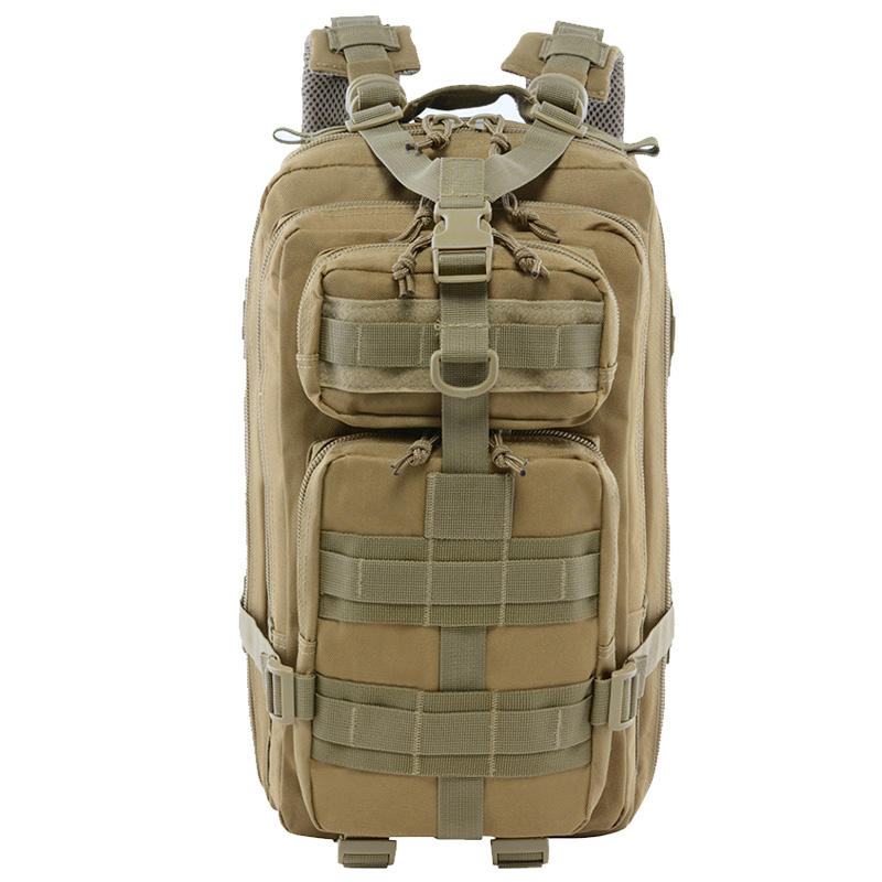 30L Military Tactical Backpack for Men Women, Army 3 Days Assault Pack Bag Large Rucksack with Molle System for Camping Hunting