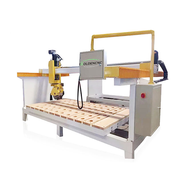 Hot sale bridge saw cnc stone cutting machine for marble granite kitchen countertop