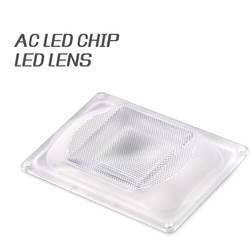 DIY led optical lens Cob 20W 30W 50W Driverless AC COB Led Lenses WITH REFLECTOR Optic, lens and rubber seal for LED Grow Light
