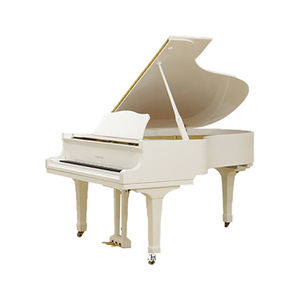 used world top branded Japanese acoustic mini grand white upright piano