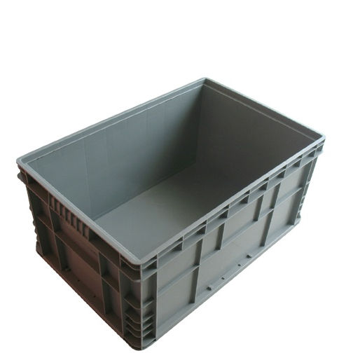 Euro Multi Color Industrial Stacking Moving Plastic Storage Parts Bins Box with Handle