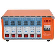 Multi-channel 6 cavities pid hot runner temperature controller with pwm output for plastic industry