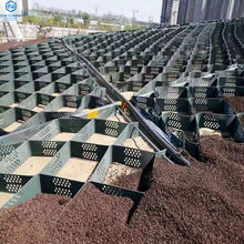 Hdpe Geocell Price Geocell Factory High Intensity Geocell Hive restraint system soft foundation reinforcement slope steep hill