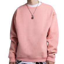 Custom Mens Urban Clothing Cotton Crew Neck Sweatshirt Blank Cotton  Mens Hoodies Sweatshirt  Mens Crewneck Sweatshirts