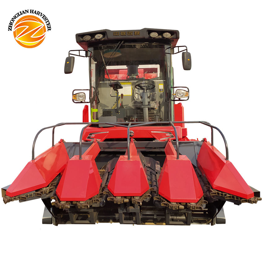 New products ear corn picker corn/maize harvester combine machine The most competitive price