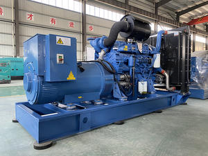 600kw 750kva Chinese Engine brand optional Alternator Customized Color/ Packaging Diesel Generator