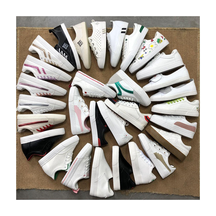 WH10251 Wholesale stocklot shoes girl new Korean fashion zapatos ladies cheap used shoes women wenzhou dongheng shoes
