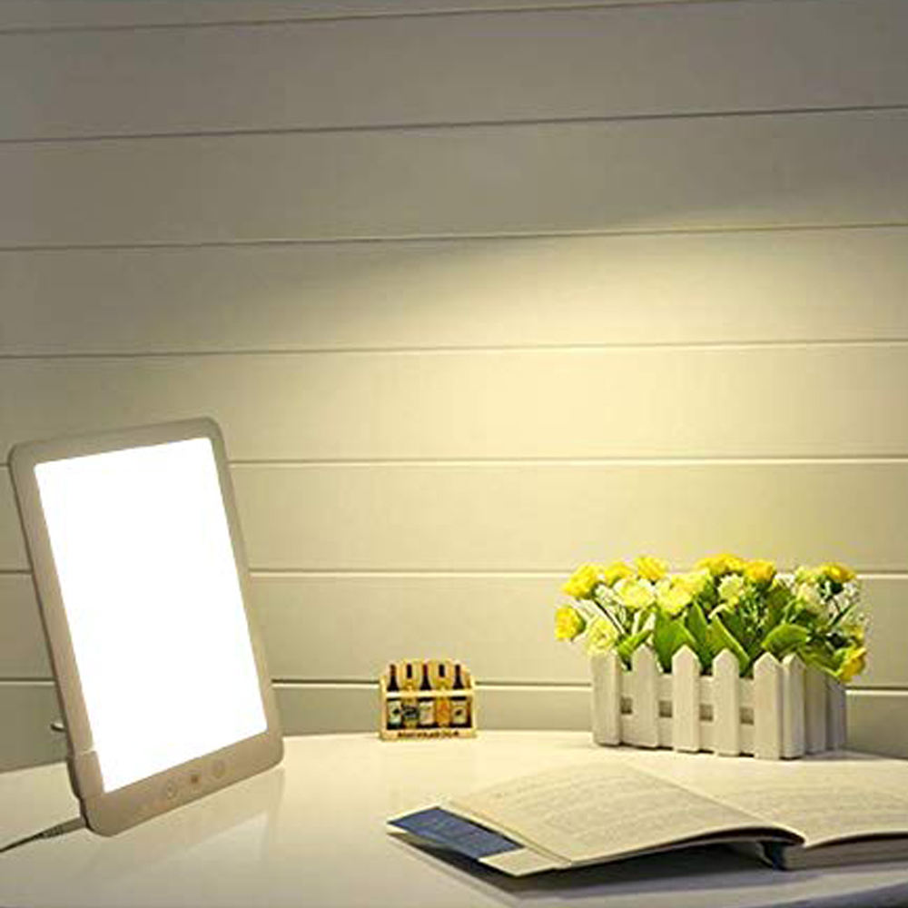 SAD Light Therapy Daylight Sunlight Box Lamp 10000 Lux Home Office Foldable New